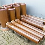 Terracotta Sewer Pipes