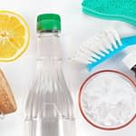 Green Eco-Friendly Bathroom Cleaners