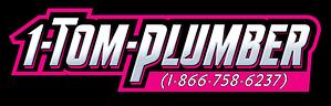 1-Tom-Plumber Logo 1-866-758-6237