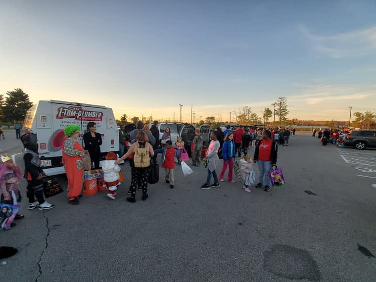 1-Tom-Plumber trunk or treat event